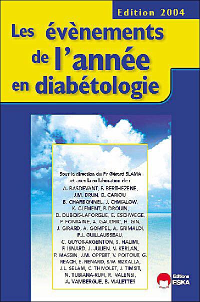 Les événements de l'année en diabétologie