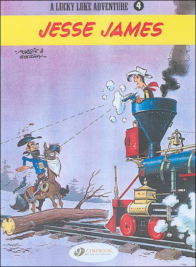 Lucky Luke - tome 4 Jesse James