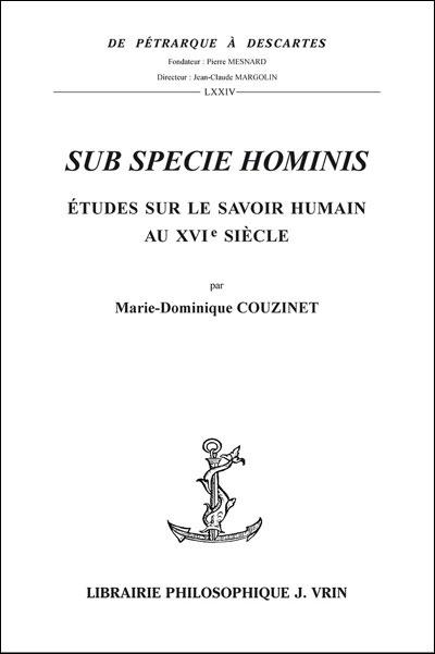 Sub specie hominis