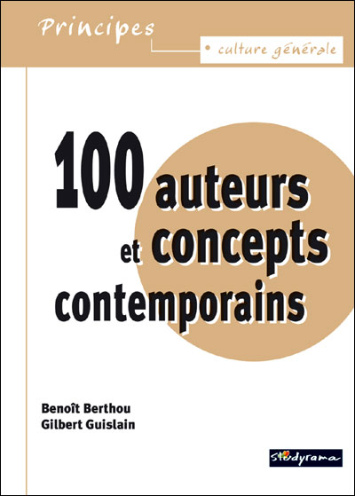 100 auteurs et concepts contemporains