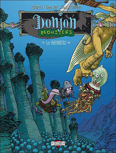 Donjon Monsters - tome 9 Habitants des profondeurs