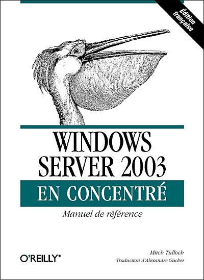 Windows server 2003 - O´reilly France