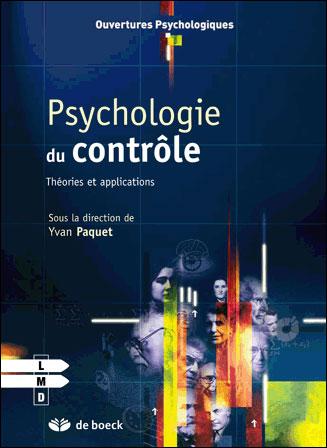 Psychologie du contrôle, théories et application