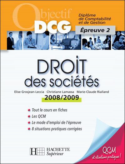 Objectif DCG - Droit des sociétés