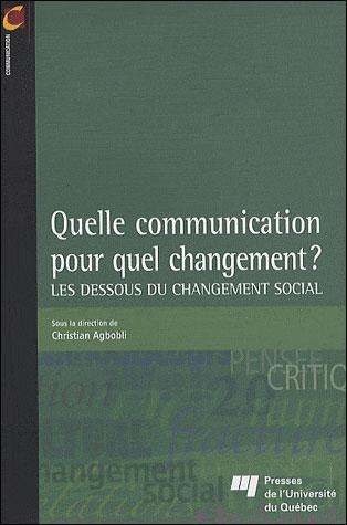Quelle communication pour quel changement ?