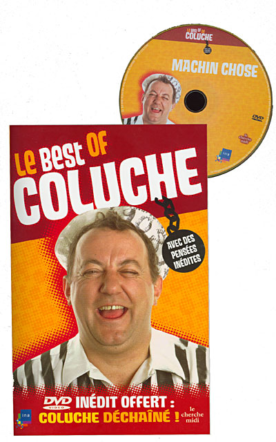 Le best of Coluche + 1 dvd offert
