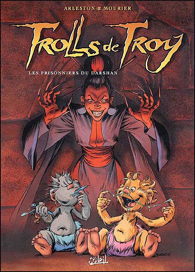 Trolls de Troy *Tome 9 - Les Prisonniers du Darshan