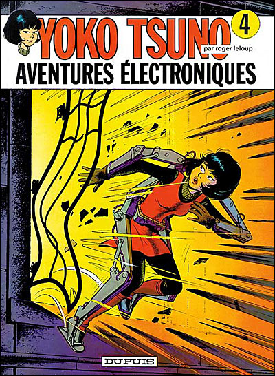 Aventures électroniques - tome 4 - Yoko Tsuno