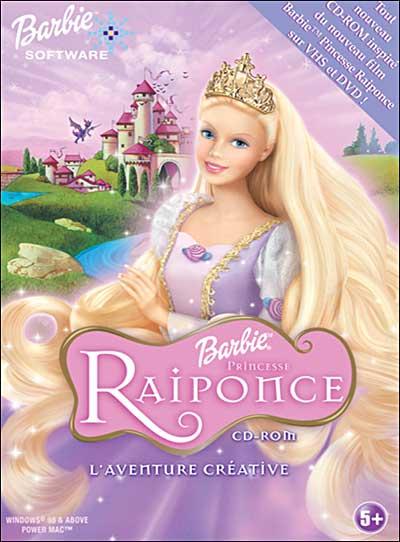 barbie princesse raiponce cdrom achat prix fnac - Jeux De Raiponce Gratuit