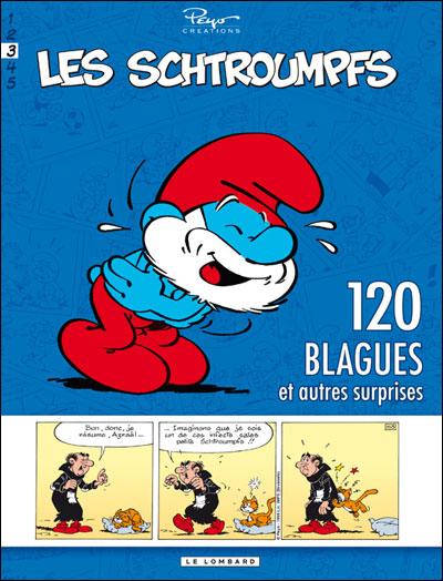Schtroumpfs (120 Blagues) - Tome 3 - 120 blagues et autres surprises
