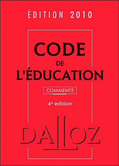 Code de l'éducation commenté