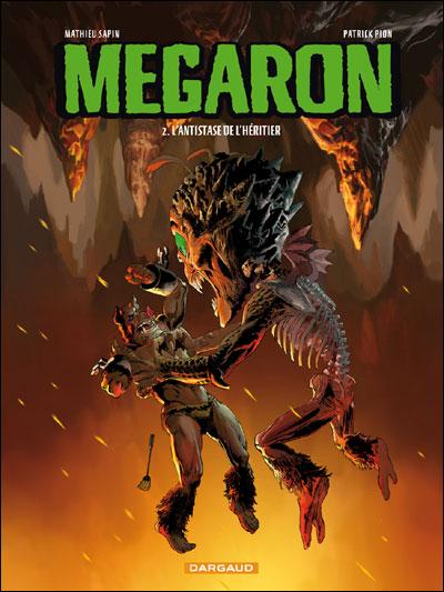 Megaron - Tome 2 : L'amulette du dieu jaloux