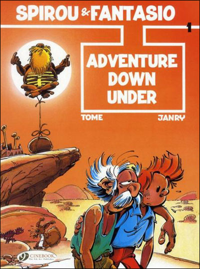 Spirou & Fantasio - tome 1 Adventure Down Under