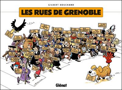 Les rues de Grenoble en BD