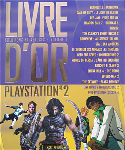 - SubTitle Guide de solutions de 288 pages pour : GTA San Andreas - GTA Vice City - Burnout 3 - Prince Of Persia : l´Ame du Guerrier - Driv3r - Final Fantasy X 2 - Pro Evolution Soccer 4 - Silent Hill 4 - Tony Hawk´s Underground 2 - Def Jam - Onimusha 3 -