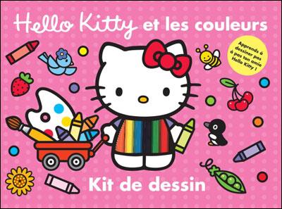 Hello Kitty Kit De Dessin Hello Kitty Et Les Couleurs