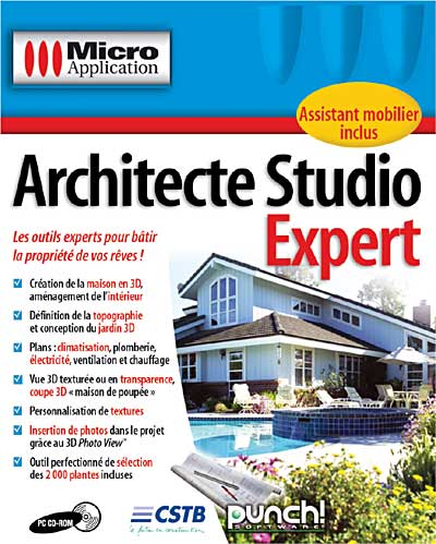 - SubTitle Une solution logicielle complète et performante pour concevoir sa propriété sur mesure. - Editeur Micro Application - Public