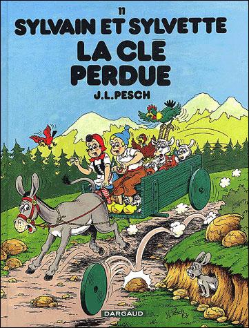 Sylvain et Sylvette - La Clé perdue
