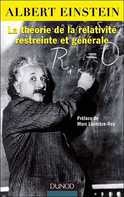 la theorie de la relativite restreinte et generale