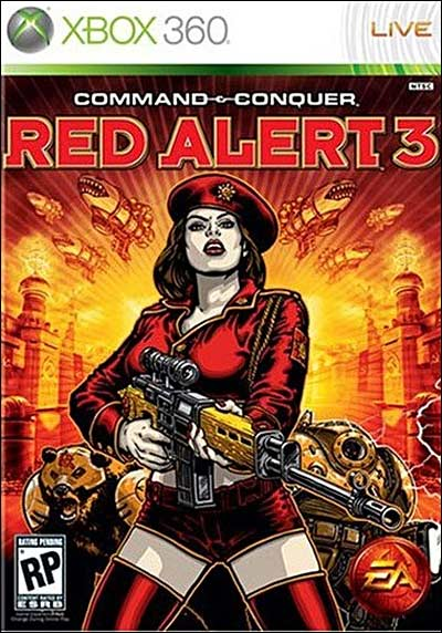 Command & Conquer Alerte Rouge 3 - Xbox 360