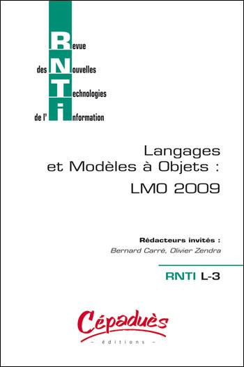 Langages et modèles à objets : LMO 2009