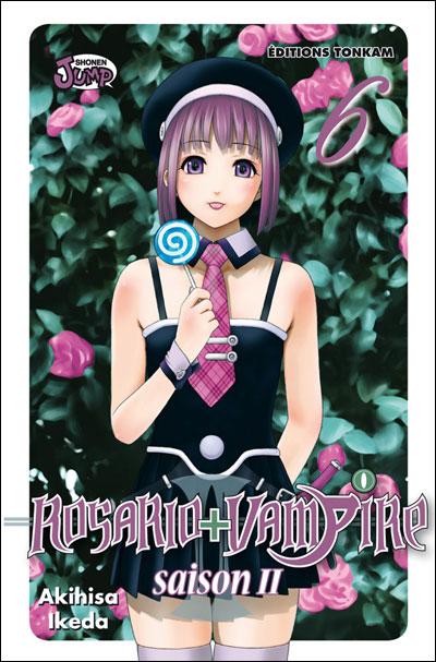 Rosario + vampire - Saison 2 Tome 6 : Rosario + Vampire Saison II -Tome 06-