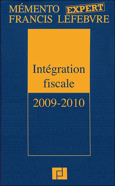 Mémento expert intégration fiscale