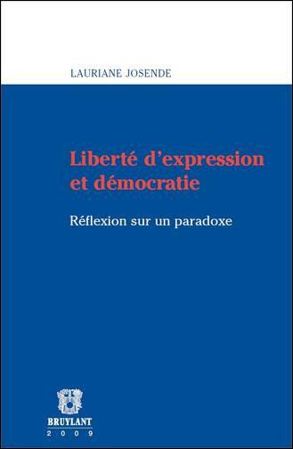 Liberté d'expression et démocratie