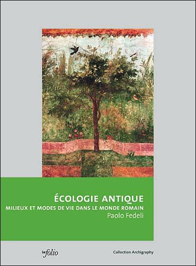 Ecologie antique - broché - Paolo Fedeli - Achat Livre   fnac