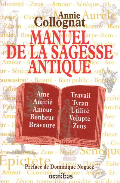 Manuel de la sagesse antique
