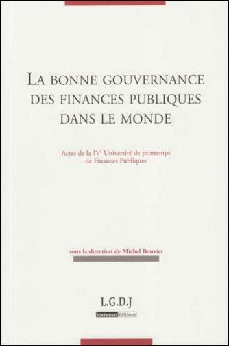 Bonne gouvernance des finances publiques dans le monde