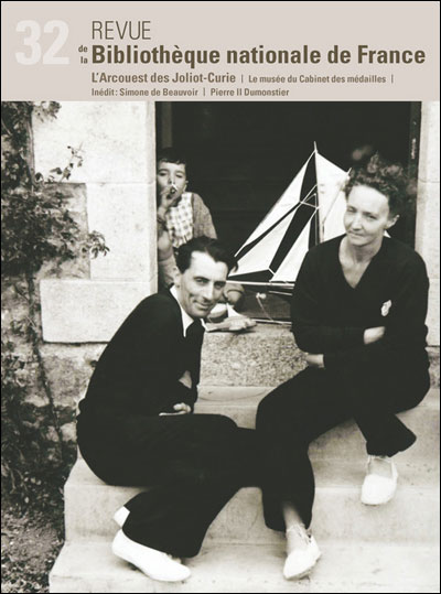 Revue de la BNF 32. L'Arcouest des Joliot-Curie. Une villégiature intellectuelle en Bretagne
