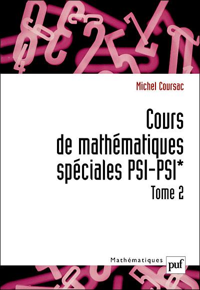 Cours de mathématiques spéciales PSI-PSI*