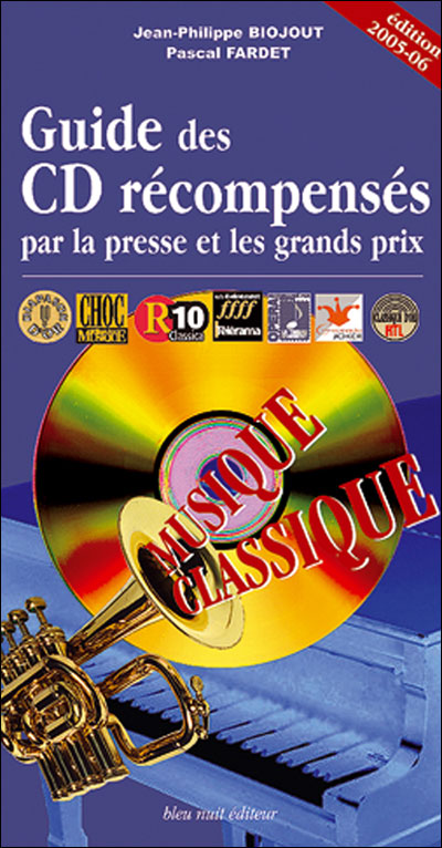 Guide des CD, récompenses de musique classique