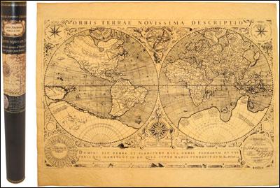 Le monde en 1602