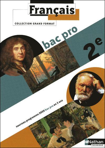 Francais 2e bac pro eleve 2009
