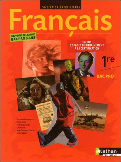 Francais 1re bac pro (e-l) ele