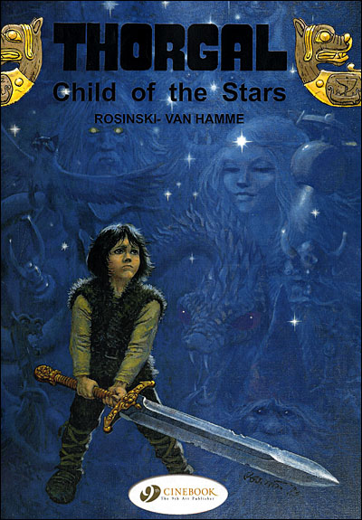 Thorgal - tome 1 Child of the stars