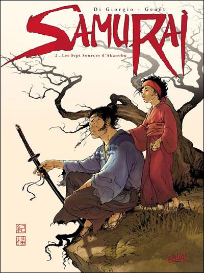 Samuraï T02 Les Sept Sources d'Akanobu