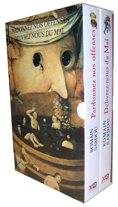 Coffret 2 volumes Romain Sardou - pardonnez nos offenses - délivrez-nous du mal