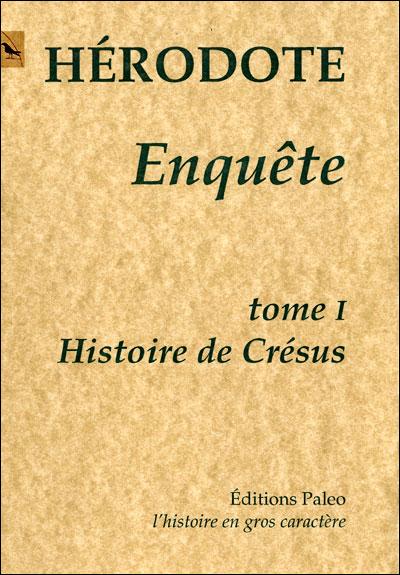 Enquête : histoire de Crésus