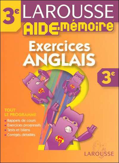 Exercices ANGLAIS 3e