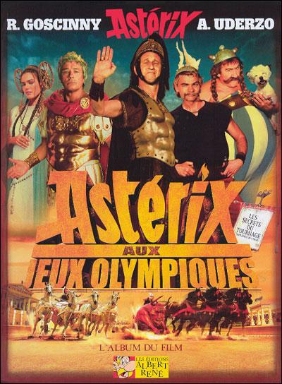 Astérix aux Jeux Olympiques - Album du film