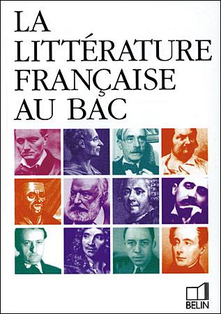 Litterature francaise au bac