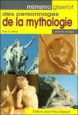 Mémento gisserot des personnages de la mythologie chez Fnac