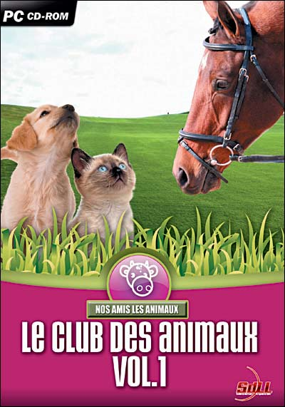 photo Sdll [société De Distribution De Logiciels De Loisirs] Le Club des Animaux - Volume 1