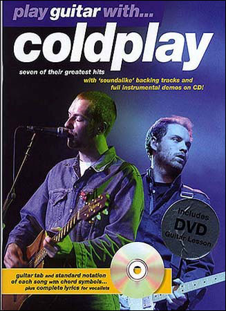 Coldplay play guitar with tab