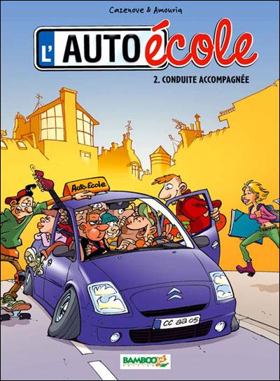 L'auto école - Conduite accompagnée - nouvelle
