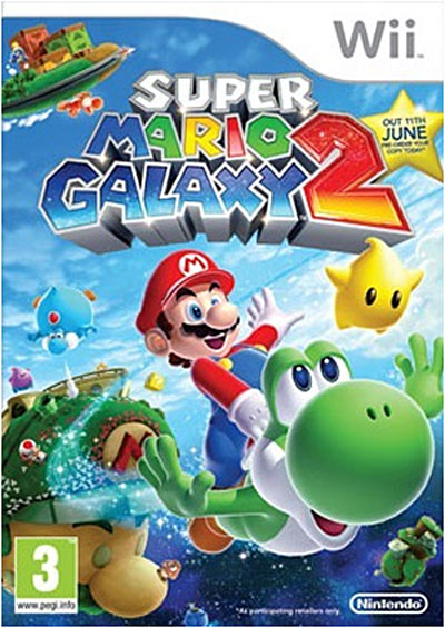 super mario galaxy 2 sur nintendo wii jeux vid o achat. Black Bedroom Furniture Sets. Home Design Ideas