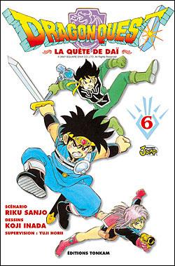 Dragon quest - La Quête de Daï : Dragon Quest -Tome 06-